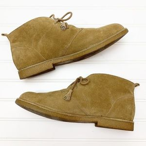 Lucky Brand Eberline suede lace up desert Boots 10